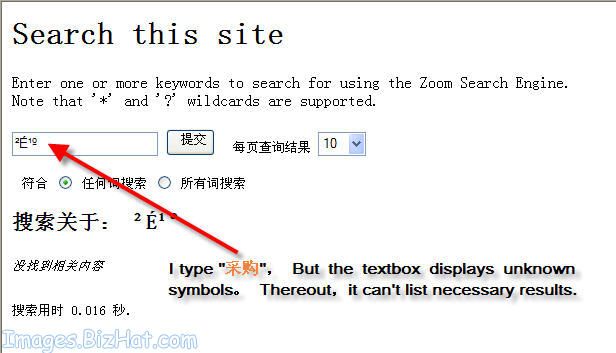 Why Zoom Search Dont Support Chinese Characters Wrensoft Forums